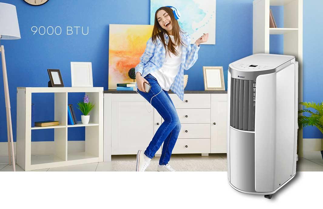 Gree mobile climatizzazione shiny 9000 btu clima 2 6 kw - Condizionatore unita esterna piccola ...