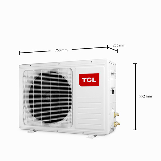 tcl split klimaanlage 9000 btu quick connector inverter klima klimager t 2 6kw ebay. Black Bedroom Furniture Sets. Home Design Ideas