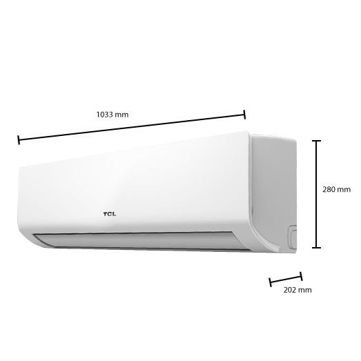 split klimaanlage klimager t inverter tcl 6 4 kw 24000 btu. Black Bedroom Furniture Sets. Home Design Ideas