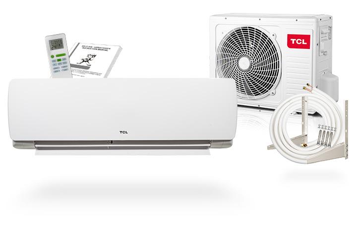 tcl split a c 9000 btu wlan wifi 2 6 kw air conditioner model dn ebay. Black Bedroom Furniture Sets. Home Design Ideas