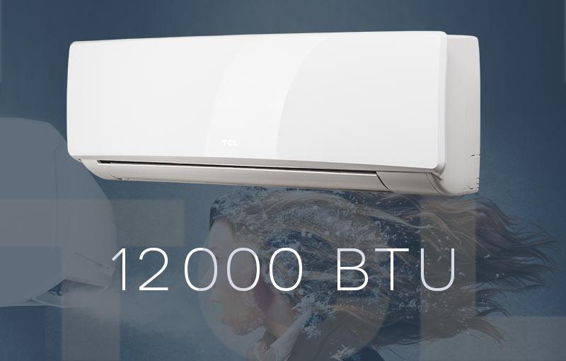 Tcl inverter climatiseur split 12000 btu 3 5kw climat for Climatiseur mural carrier 12000 btu
